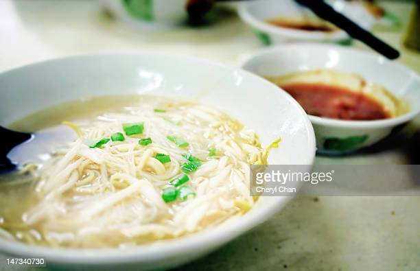 Rice noodle in soup