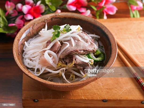 how to cook rice noodles for soup