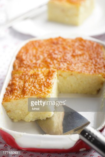 Rice pudding : Stock Photo
