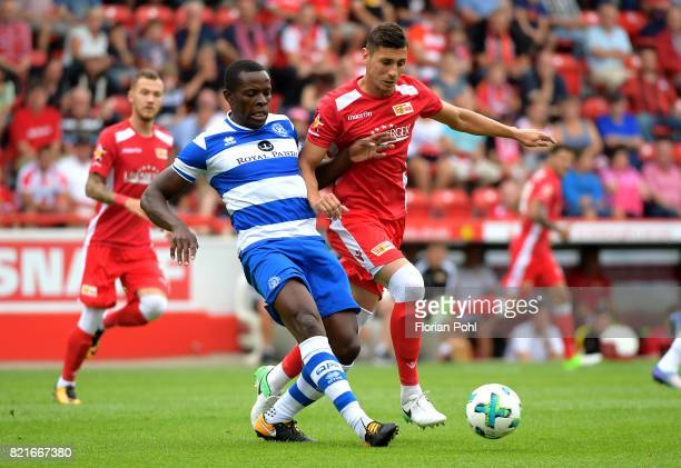ricght Damir Kreilach of 1 FC Union Berlin during the game between Union Berlin and the Queens Park Rangers on july 24 2017 in Berlin Germany