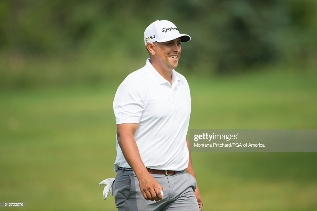 Rich Berberian on the 11th hole during the final round of the 49th PGA Professional Championship at the Atunyote Golf Club on June 29, 2016 in Vernon, New York.