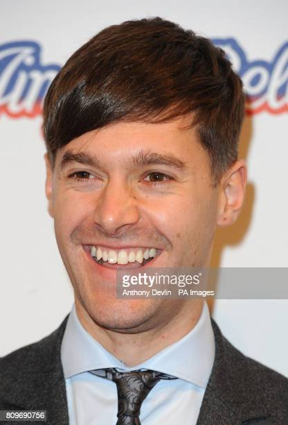 Rich Clarke poses backstage on the second day of the Capital FM Jingle Bell Ball at the 02 Arena London PRESS ASSOCIATION Photo Sunday December 04...