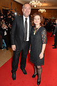 Rich Cline and Hilary Oliver attend The London Critics' Circle Film Awards at The Mayfair Hotel on January 18 2015 in London England