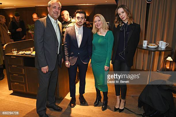 Rich Cline Craig Roberts Anna Smith and Chloe Pirrie attend the nominations announcement for The London Critics' Circle Film Awards at The May Fair...