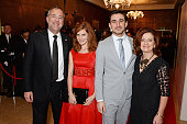 Rich Cline Louise Brealey Ferdinand Kingsley and Hilary Oliver attend The London Critics' Circle Film Awards at The Mayfair Hotel on January 18 2015...