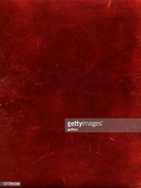 Rich deep red leather background