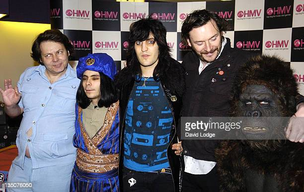 Rich Fulcher Michael Fielding Noel Fielding and Julian Barratt