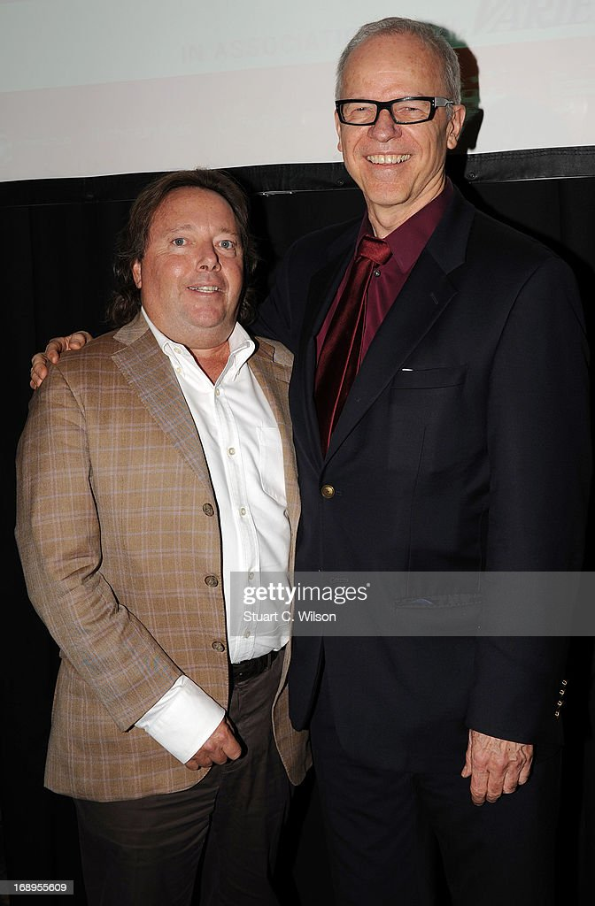 Rich Gelfond and Timothy Gray attend the 4th Annual International Film Finance Forum presented by Winston Baker in association with Variety at the Intercontinental Carlton Hotel during The 66th Annual Cannes Film Festival on May 17, 2013 in Cannes, France.