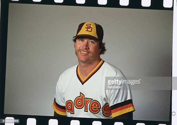 Rich Gossage pitcher for the San Diego Padres