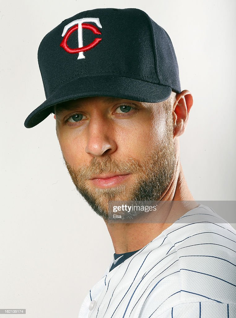 <a gi-track='captionPersonalityLinkClicked' href=/galleries/search?phrase=Rich+Harden&family=editorial&specificpeople=206184 ng-click='$event.stopPropagation()'>Rich Harden</a> #47 of the Minnesota Twins poses for a portrait on February 19, 2013 at Hammond Stadium in Fort Myers, Florida.