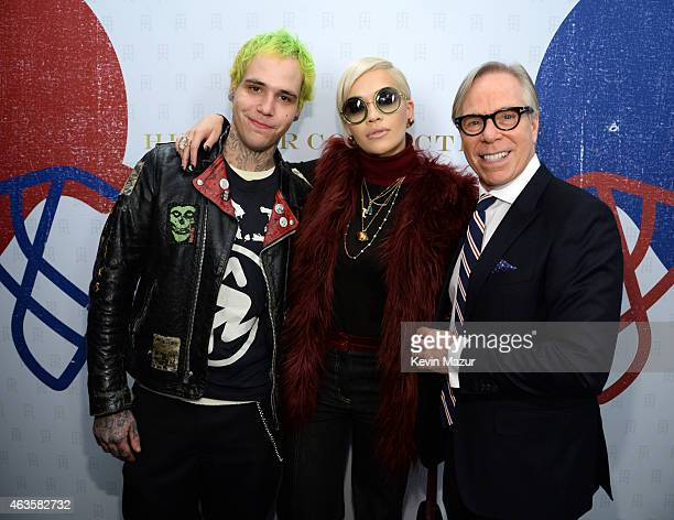 Rich Hilfiger Rita Ora and Tommy Hilfiger backstage at Tommy Hilfiger Women's Collection during MercedesBenz Fashion Week Fall 2015 at Park Avenue...