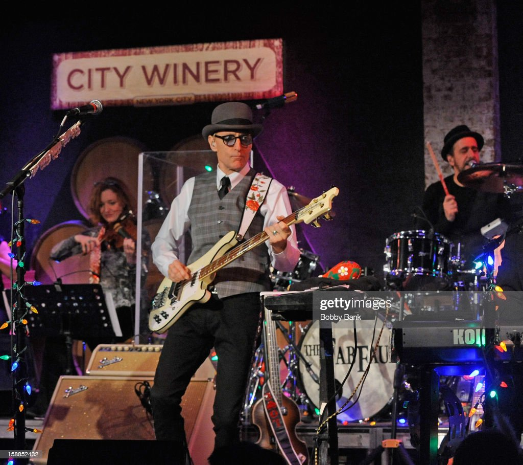 Rich Pagano and Will Lee of Fab Faux perform at City Winery on December 31, 2012 in New York City.