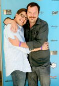 Rich Sommer and Michael Gladis attend the Kari Feinstein MTV Movie Awards Style Lounge held at Montage Beverly Hills on June 4 2010 in Beverly Hills...