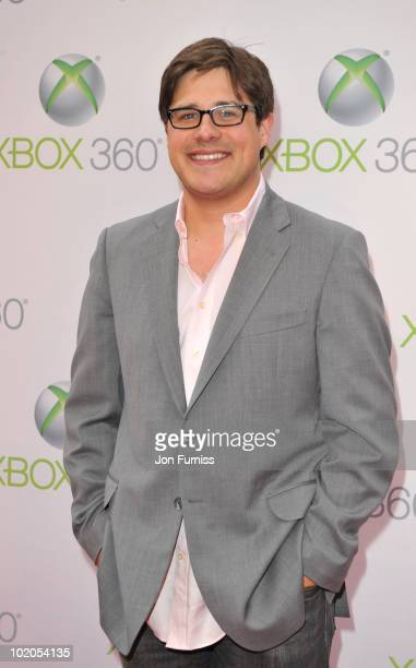 Rich Sonmer attends the world premiere of Kinect for Xbox 360 in LA where Cirque du Soleil performed an exclusive show at Galen Center on June 13...