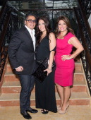 Rich Wakile Kathy Wakile and Victoria Wakile attends the Posh Boutique fashion show at The Terrace on May 1 2014 in Paramus New Jersey