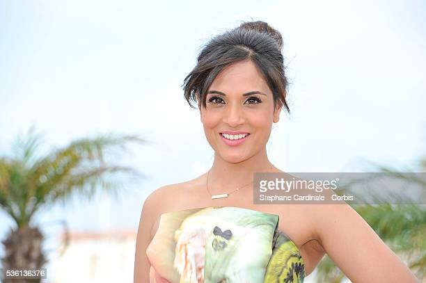 Richa Chadda attends the 'Masaan' Photocall during the 68th Cannes Film Festival