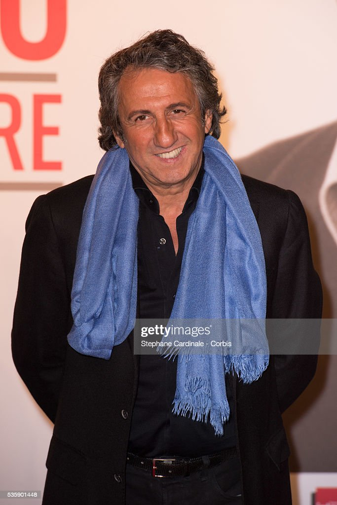 Richard Anconina attends the Tribute to Jean Paul Belmondo and Opening Ceremony of the Fifth Lumiere Film Festival, in Lyon.