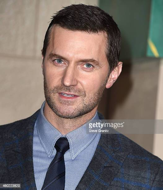 Richard Armitage arrives at the 'The Hobbit The Battle Of The Five Armies' at Dolby Theatre on December 9 2014 in Hollywood California