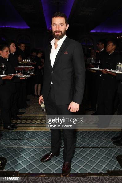 Richard Armitage attends an after party following the press night performance of 'The Crucible' at The Savoy Hotel on July 3 2014 in London England
