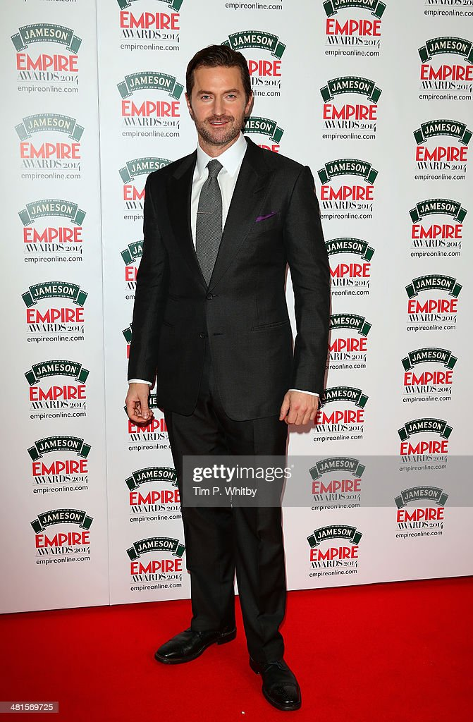 Richard Armitage attends the Jameson Empire Awards 2014 at the Grosvenor House Hotel on March 30, 2014 in London, England. Regarded as a relaxed end to the awards show season, the Jameson Empire Awards celebrate the film industry's success stories of the year with winners being voted for entirely by members of the public. Visit empireonline.com/awards2014 for more information.