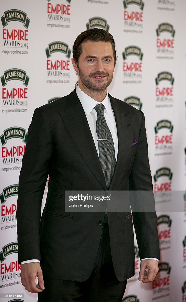 Richard Armitage attends the Jameson Empire Film Awards at The Grosvenor House Hotel on March 30, 2014 in London, England.