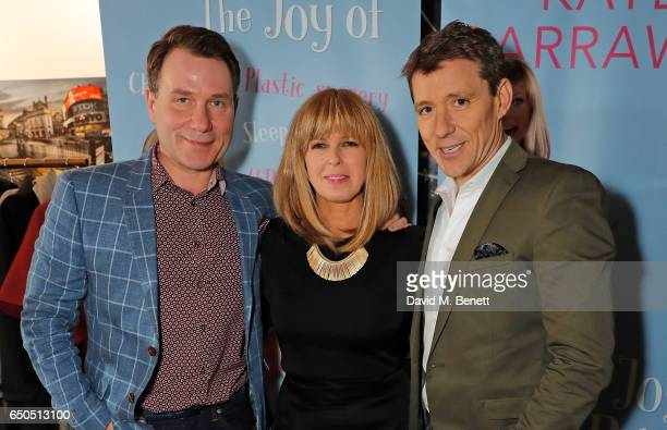 Richard Arnold Kate Garraway and Ben Shephard attend the launch of Kate Garraway's new book 'The Joy Of Big Knickers ' at Waterstones Piccadilly on...