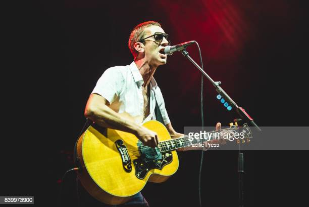 Richard Ashcroft performing live on stage at the TODays Festival in Torino