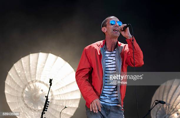 Richard Ashcroft performs on stage at the Isle Of Wight Festival 2016 at Seaclose Park on June 11 2016 in Newport Isle of Wight