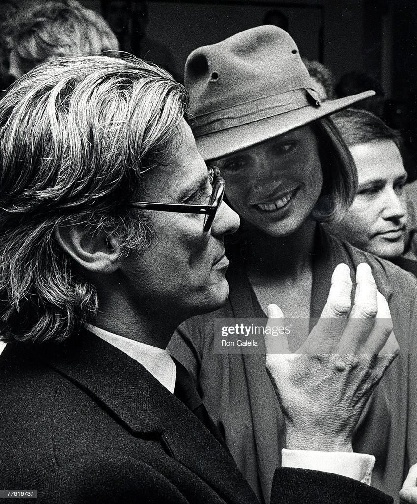 Richard Avedon and Lauren Hutton