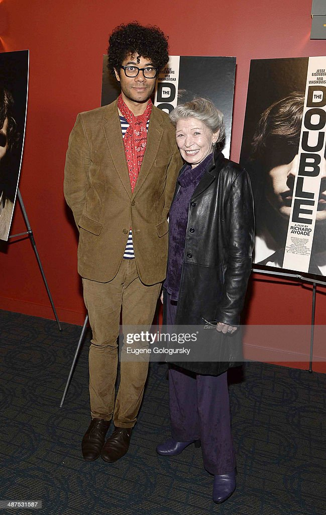 <a gi-track='captionPersonalityLinkClicked' href=/galleries/search?phrase=Richard+Ayoade&family=editorial&specificpeople=5728896 ng-click='$event.stopPropagation()'>Richard Ayoade</a> and Phyllis Somerville attend 'The Double' screening at Landmark's Sunshine Cinema on April 30, 2014 in New York City.