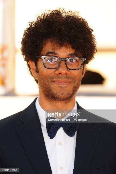 Richard Ayoade arriving for the 2014 Arqiva British Academy Television Awards at the Theatre Royal Drury Lane London