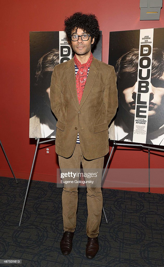 <a gi-track='captionPersonalityLinkClicked' href=/galleries/search?phrase=Richard+Ayoade&family=editorial&specificpeople=5728896 ng-click='$event.stopPropagation()'>Richard Ayoade</a> attends 'The Double' screening at Landmark's Sunshine Cinema on April 30, 2014 in New York City.
