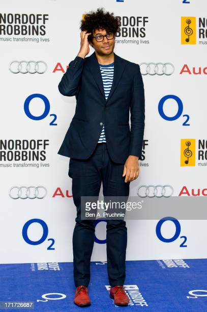 Richard Ayoade attends the Nordoff Robbins Silver Clef awards at London Hilton on June 28 2013 in London England