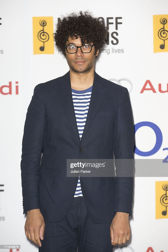 <a gi-track='captionPersonalityLinkClicked' href=/galleries/search?phrase=Richard+Ayoade&family=editorial&specificpeople=5728896 ng-click='$event.stopPropagation()'>Richard Ayoade</a> attends the Nordoff Robbins Silver Clef awards at London Hilton on June 28, 2013 in London, England.