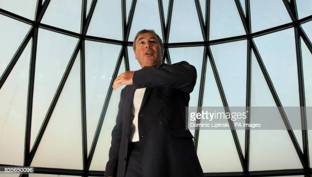 Richard BalfourLynn at his AHG AND MWB Group and the Variety Club Children's Charity Party held at the top of the Swiss Re building also known as...