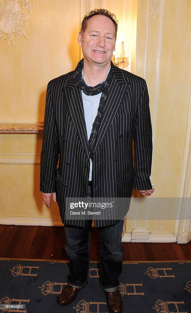 Richard Bean attends an after party celebrating the new cast of 'One Man, Two Guvnors' at the Theatre Royal Haymarket on February 12, 2013 in London, England.