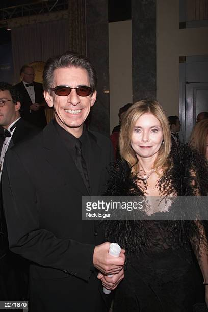 Richard Belzer and his wife at the Roast held at the New York Friars Club in honor of Rob Reiner The Roast was presented by Comedy Central