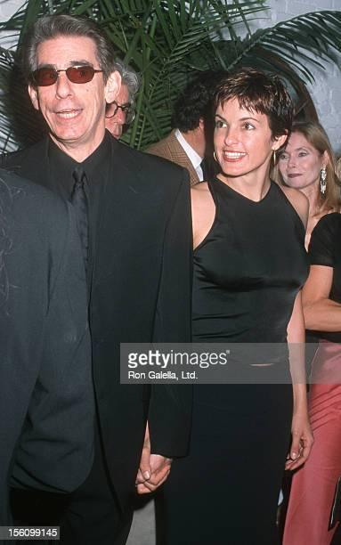 Richard Belzer and Mariska Hargitay during Landmark Club Restaurant Opening Richard Belzer's Birthday Party September 23 2000 at Landmark Club...