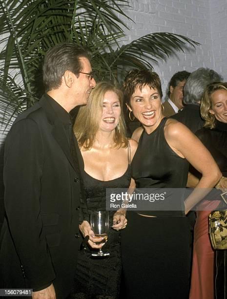 Richard Belzer and Wife Harlee McBride and Mariska Hargitay