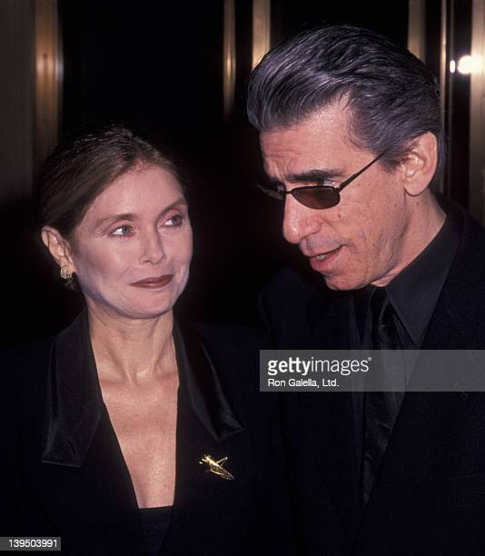 Richard Belzer and wife Marlee McBride attend 65th Annual New York Film Critic Circle Awards on January 9 2000 at Windows on the World in New York...
