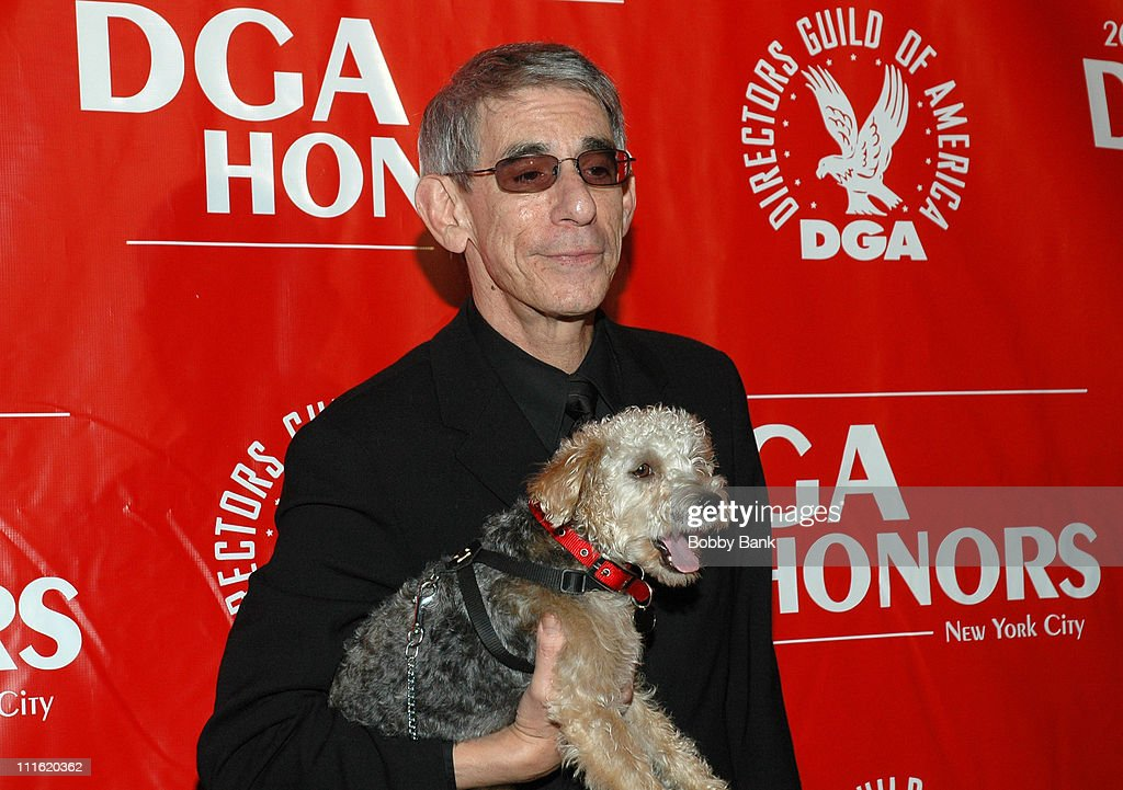 Richard Belzer & BeBe during Directors Guild of America Honors David Chase - Arrivals - October 12, 2006 at DGA Building in New York City, New York, United States.