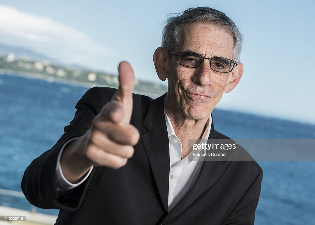 <a gi-track='captionPersonalityLinkClicked' href=/galleries/search?phrase=Richard+Belzer&family=editorial&specificpeople=206227 ng-click='$event.stopPropagation()'>Richard Belzer</a> poses for a portrait session during the 52nd Monte Carlo TV Festival on June 12, 2012 in Monaco, Monaco.