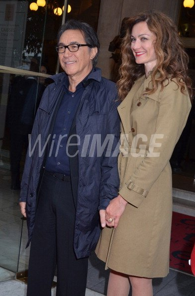 Richard Berry and actress Pascale Louange attend the ...