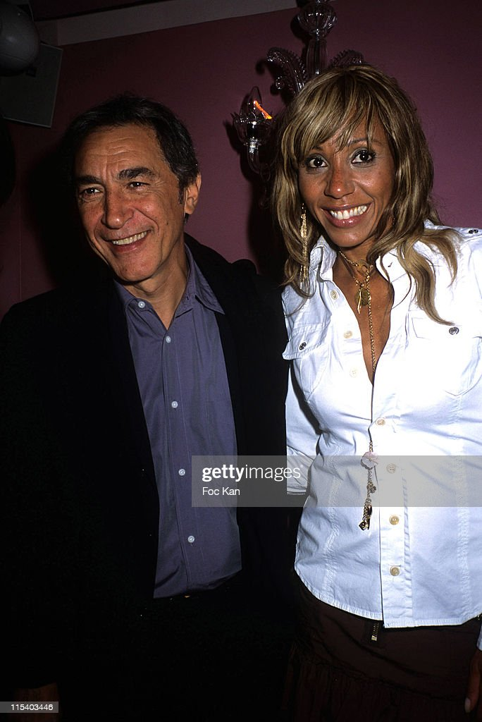 Richard Berry Cathy Guetta during Power Plate Fitness Machines Launch Party at La Suite Club in Paris France