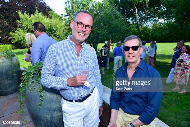 Richard Blanchette and Thomas Rozboril attend Maison Gerard Presents Marino di Teana A Lifetime of Passion and Expression at Michael Bruno and...