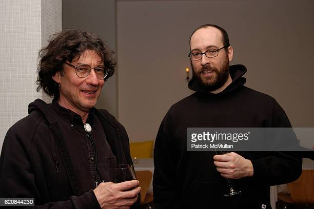 Richard Bloes and Jeff Bergstrom attend Whitney Biennial Artists Party at Trata Estiatoria on March 8 2008 in New York City