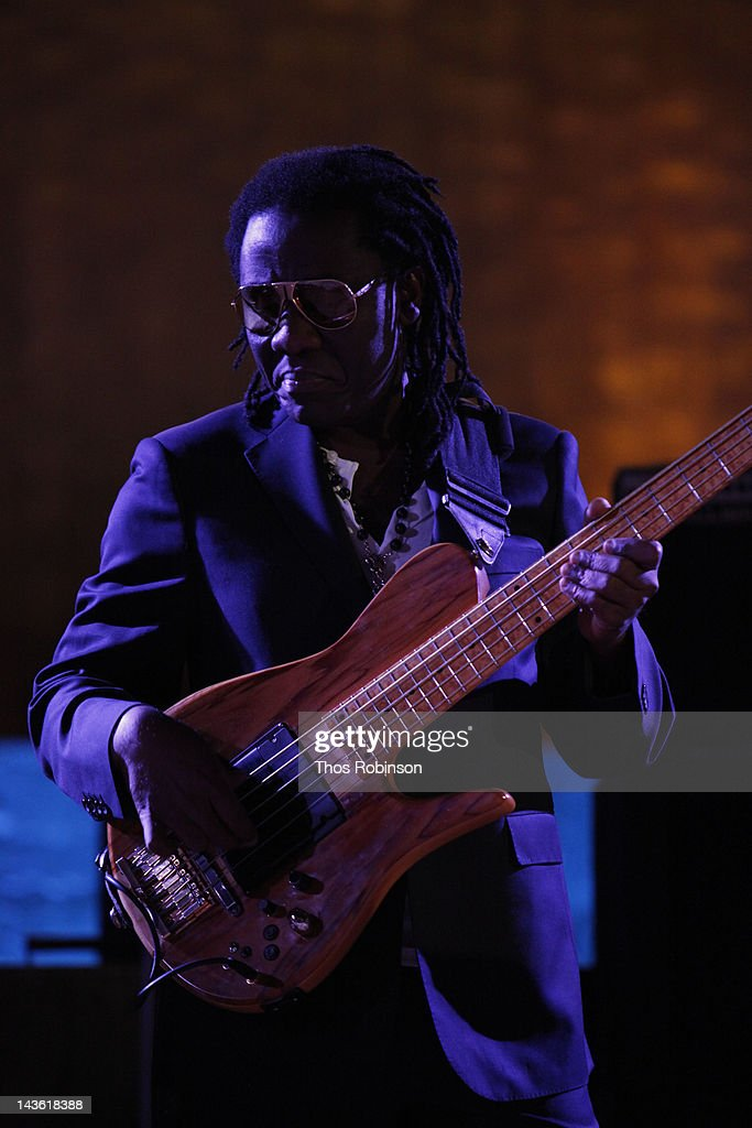 <a gi-track='captionPersonalityLinkClicked' href=/galleries/search?phrase=Richard+Bona&family=editorial&specificpeople=2312158 ng-click='$event.stopPropagation()'>Richard Bona</a> attends International Jazz Day, New York, United Nations Sunset Concert, UNESCO, Thelonious Monk Institute of Jazz on April 30, 2012 in New York City.