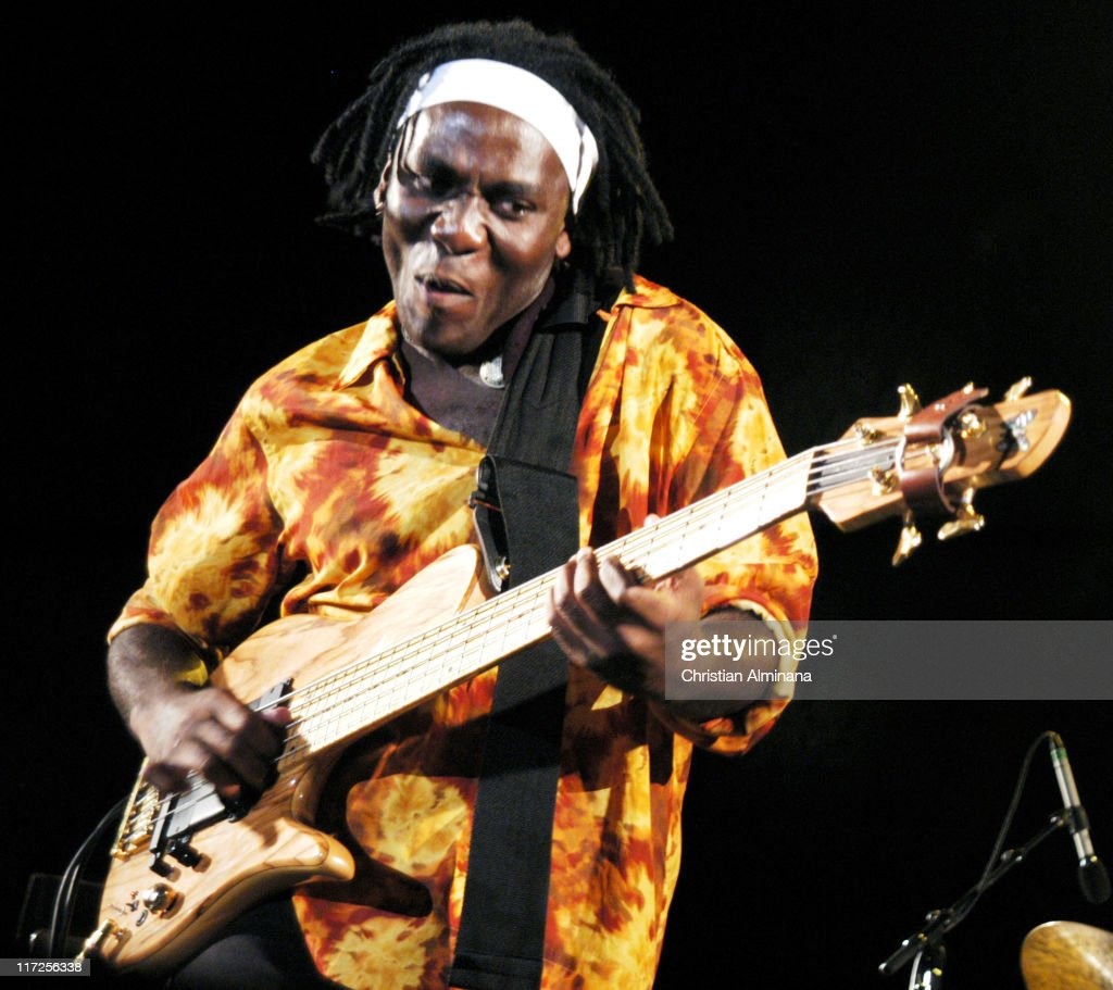 <a gi-track='captionPersonalityLinkClicked' href=/galleries/search?phrase=Richard+Bona&family=editorial&specificpeople=2312158 ng-click='$event.stopPropagation()'>Richard Bona</a> during Nice Jazz Festival 2004 - Day 8 - <a gi-track='captionPersonalityLinkClicked' href=/galleries/search?phrase=Richard+Bona&family=editorial&specificpeople=2312158 ng-click='$event.stopPropagation()'>Richard Bona</a> in Nice, France.