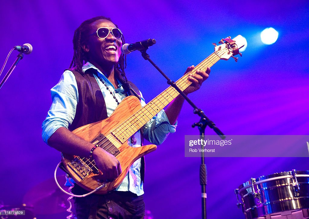 <a gi-track='captionPersonalityLinkClicked' href=/galleries/search?phrase=Richard+Bona&family=editorial&specificpeople=2312158 ng-click='$event.stopPropagation()'>Richard Bona</a> performs on stage North Sea Jazz Festival 2011at Ahoy on July 10, 2011 in Rotterdam, Netherlands.