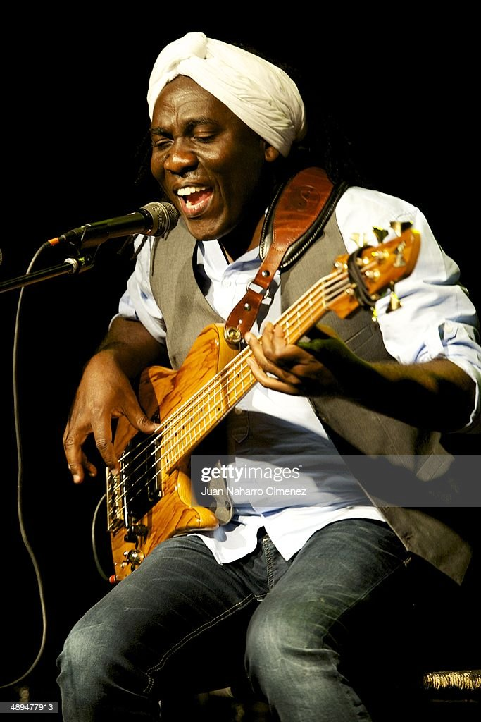 Richard Bona Performs In Concert In Madrid
